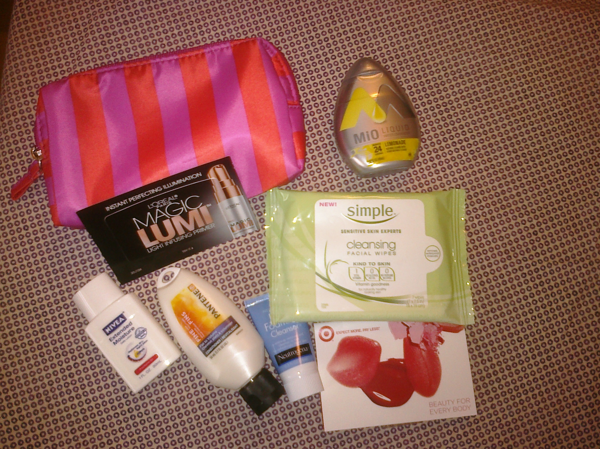 There Is Another Target Beauty Bag Give Away These Are Some Of The Best Free Samples Ever Picture Above Last Minus