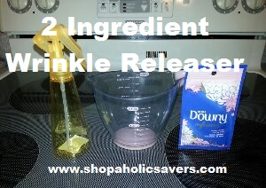 homemade downy wrinkle releaser